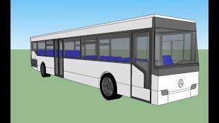 Mercedes Conecto Schaltwagen 1.1 Update