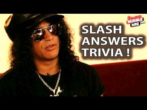 Slash Quizz Interview for Apocalyptic Love (2012)