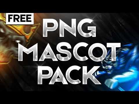 FREE / PNG MASCOT LOGO PACK [ 6 FREE LOGO]