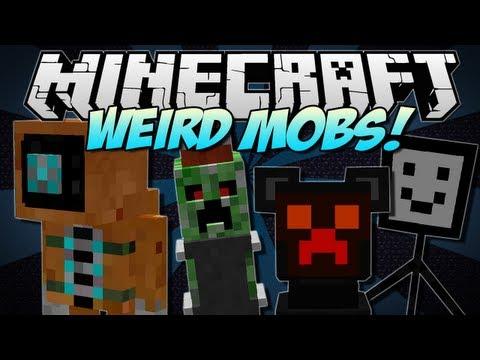 Minecraft | WEIRD MOBS! (10+ Crazy NEW Mobs!) | Mod Showcase [1.5.1]