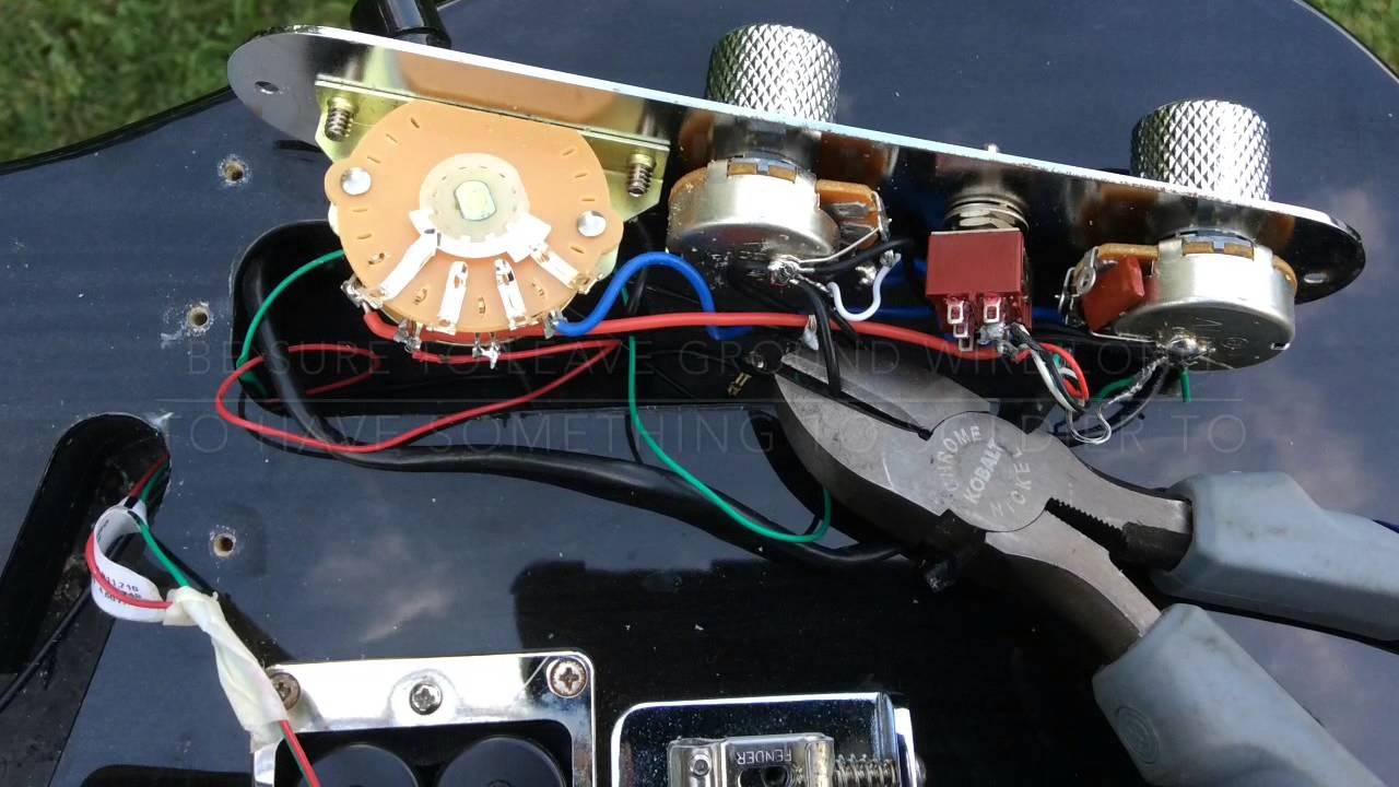dimarzio wiring code [ 1280 x 720 Pixel ]