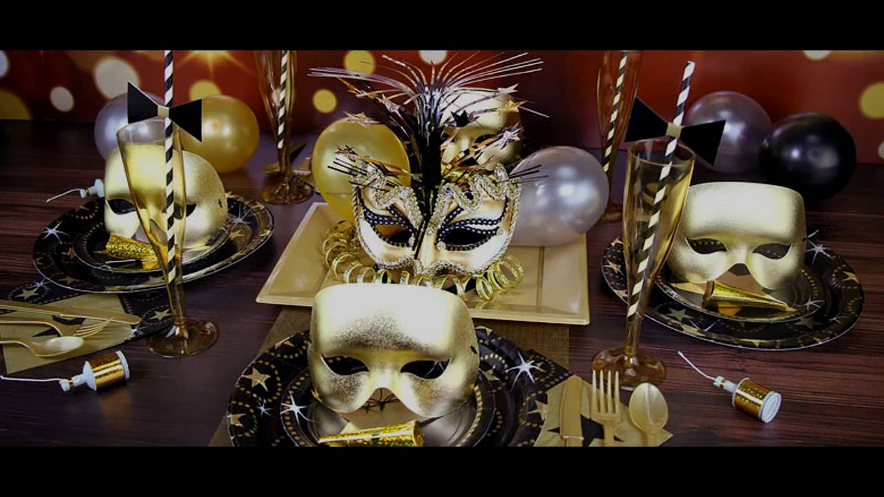 Masquerade Party Themed Decorating Ideas