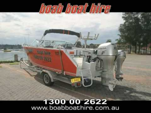 Boab Boat Hire - Sports Rider vessel