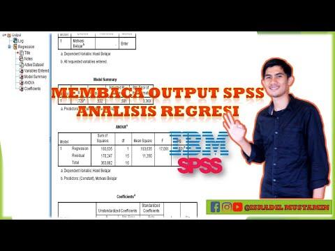 Dalam video ini menjelaskan tentang Uji T dalam analisis regresi linear berganda dengan SPSS. Konsep.