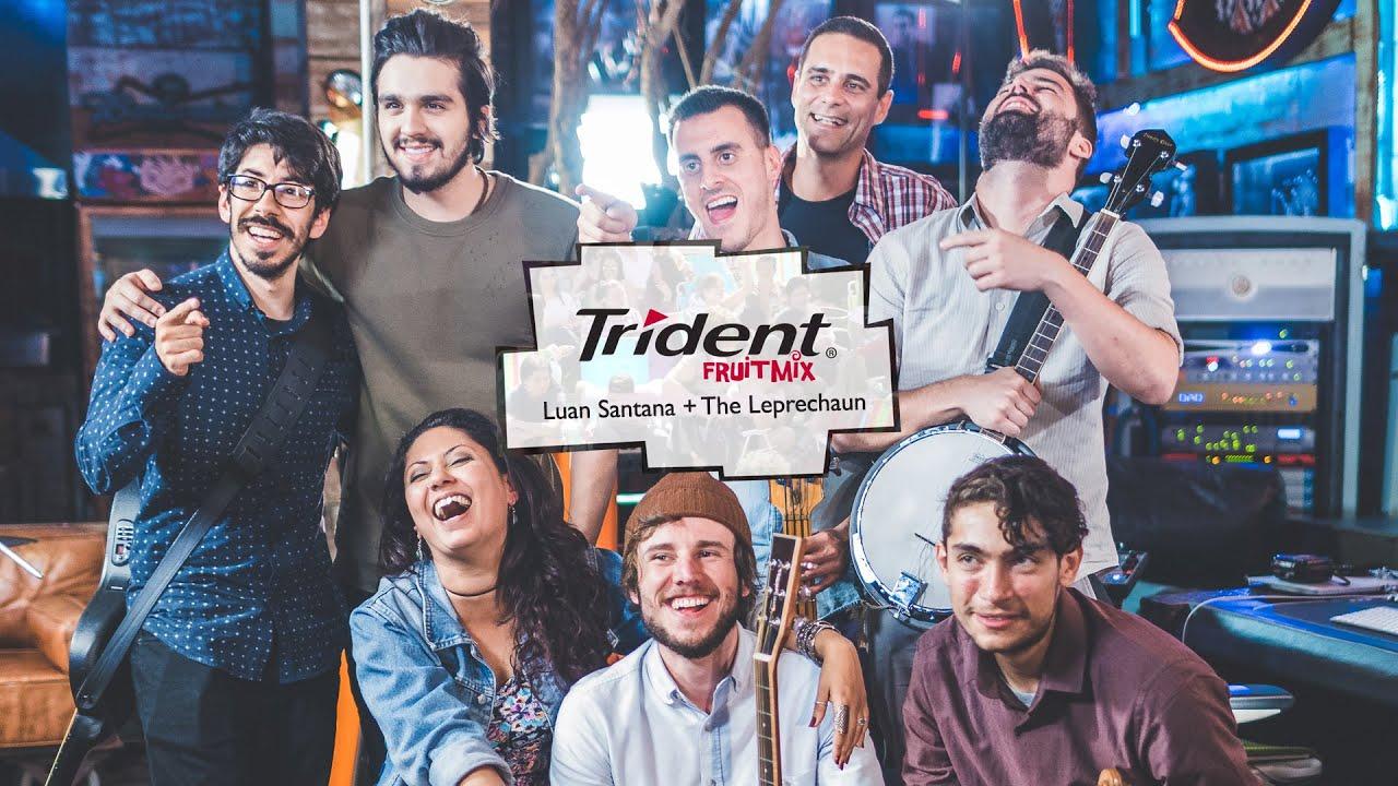 Mixtura Bandas Trident | Luan Santana e The Leprechaun - Natasha