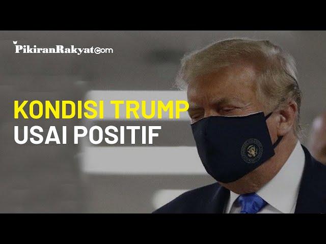 Presiden Amerika Serikat Donald Trump Positif Covid-19