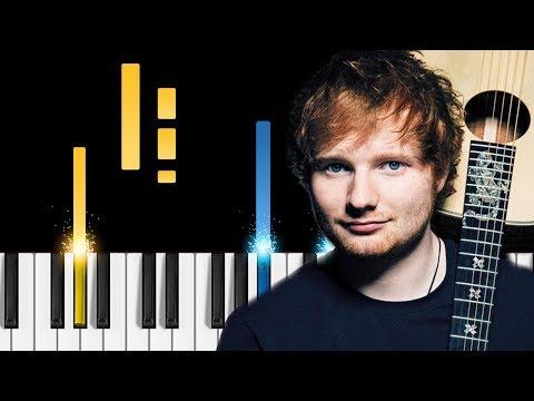 I Don't Care Chords Ed Sheeran
