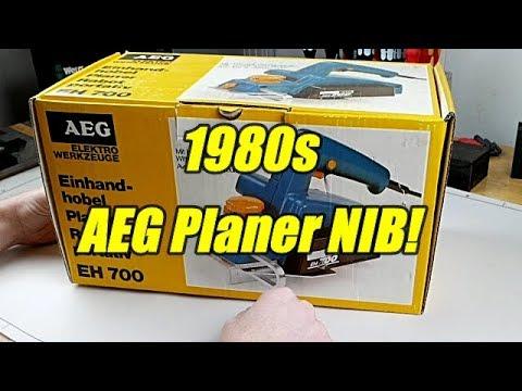 AEG Planer from 1983 NIB!