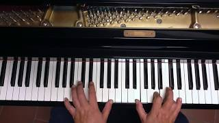 Tutorial piano y voz Como yo te amo (Rocio Jurado/Raphael)