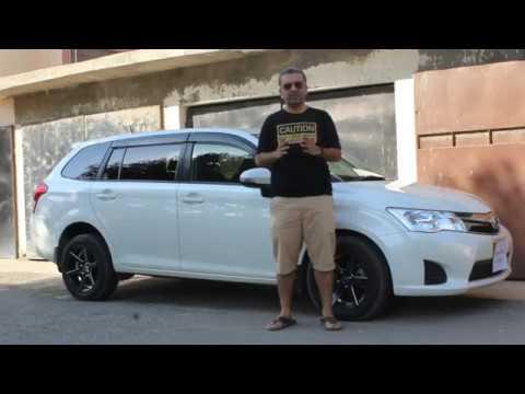 Official Review - ECarPak - Toyota Corolla Fielder Hybrid - Its Corolla, Its Estate Car, Its Hybrid