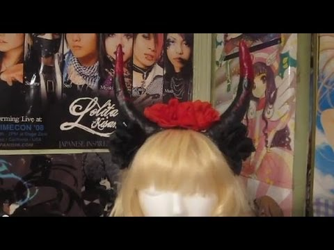 Flower Horn Headband Tutorial (Cosplay, Pastel Goth, ect.)
