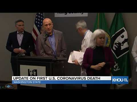 LIVE: Health Officials Give Update On First U.S. Death From Coronavirus In Washington State