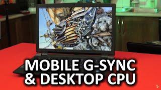 Sager NP9773 - True Desktop Replacement G-Sync Laptop
