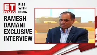 Ramesh Damani, Member, BSE speaks to ET NOW   Market on the cusp of a new bull run?