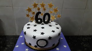 60th Birthday Cake Making By New Wala