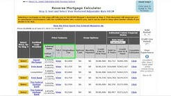 How to use the Kosher Reverse Mortgage Calculator - Credit Line Option