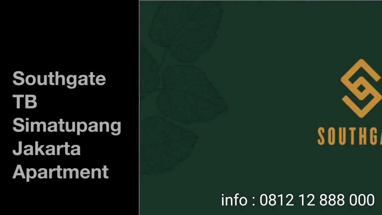 Apartment Design Jakarta southgate tb simatupang jakarta -sinarmas land - youtube