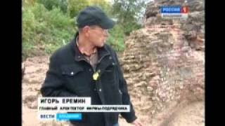 Нижегородский кремль преподнес сюрприз археологам(Video uploaded from my phone., 2011-10-11T11:17:56.000Z)