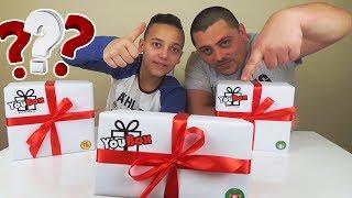 Посылка от YouBox РАСПАКОВКА Крутых ПОДАРКОВ OPEN Surprise BOX VR BOX Что в КОРОБКЕ