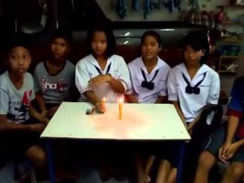 การทดลองวิทยาศาสตร์ เปลวไฟกระโดดได้ By Panpraow school ม.1/2