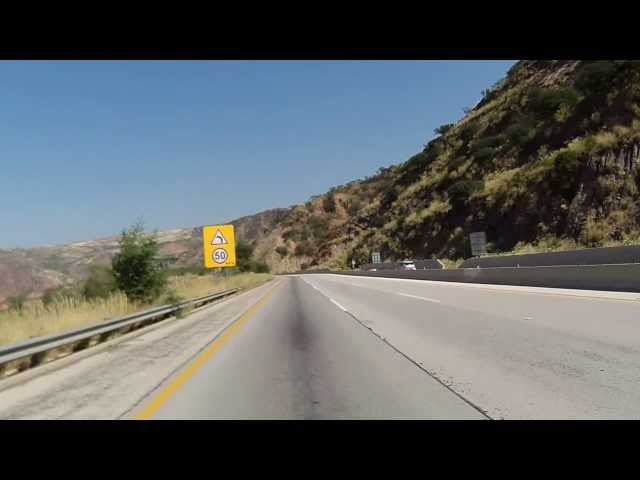 Lahore to Islamabad on Motorcycle via Motorway in HD - Part 4 of 6 Travel Video