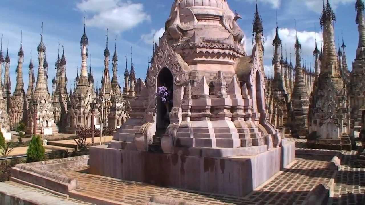 Kakku, Myanmar (Burma) 2009 - YouTube