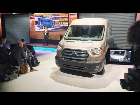 2019 NTEA Work Truck Show, Part one 2020 Ford Transit