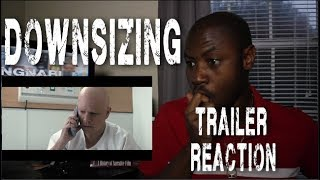 DOWNSIZING Official Trailer # 2 (2017) Matt Damon Christoph Waltz Sci Fi Movie REACTION