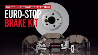 homepage tile video photo for Euro-Stop Brake Kit | PowerStop