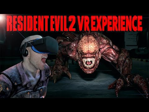 Resident Evil 2 Virtual Reality Experience R P D Main Hall Oculus Rift &  Oculus Touch Gameplay