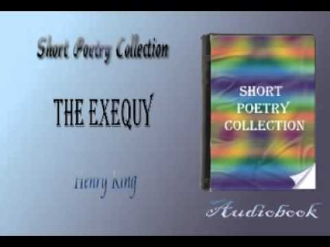 The Exequy Henry King audiobook