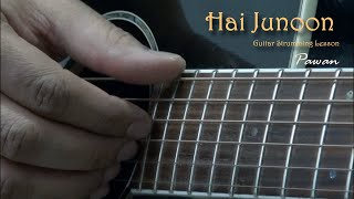 Hai Junoon - New York - Guitar Chords Lesson by Pawan