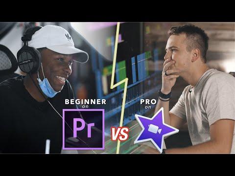 Download Beginner on Adobe Premiere VS. Pro on iMovie - Editing Showdown!
