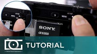 Соні Альфа A6300 туторіал | як зробити ручного фокусування на Sony A6300