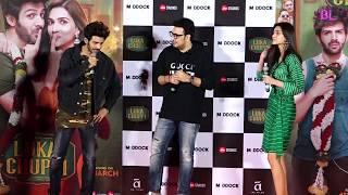 Luka Chuppi official trailer launch | Kartik Aaryan, Kriti Sanon, Dinesh Vijan | Uncut 01