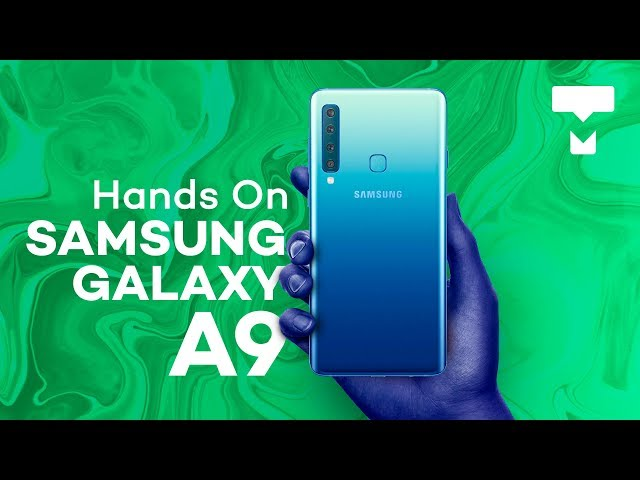 Samsung Galaxy A9 - Hands On - TecMundo