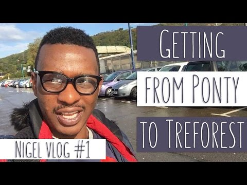 Getting to Treforest from Pontypridd - Nigel, Student vlog