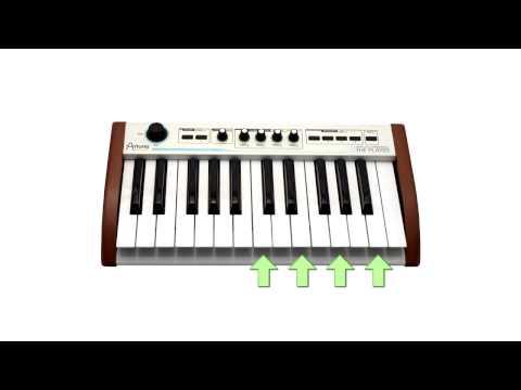 Урок №3. Как играть аккорды на пианино, фортепиано или синтезаторе?