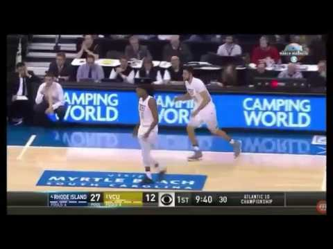 2017 Atlantic Ten Championship: VCU vs Rhode Island 3/12/17