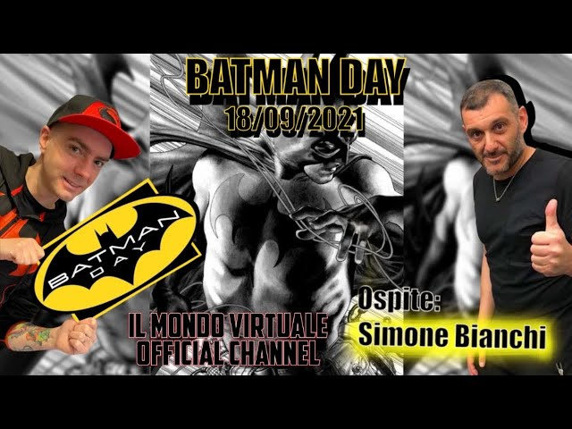 BATMAN DAY 18/09/21 - SIMONE BIANCHI OSPITE IN NEGOZIO!