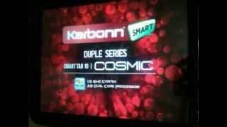 Karbonn Smart Tab 10 Cosmic