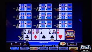 Pala Casino: Ultimate X Poker Bonus Streak Slot Machine