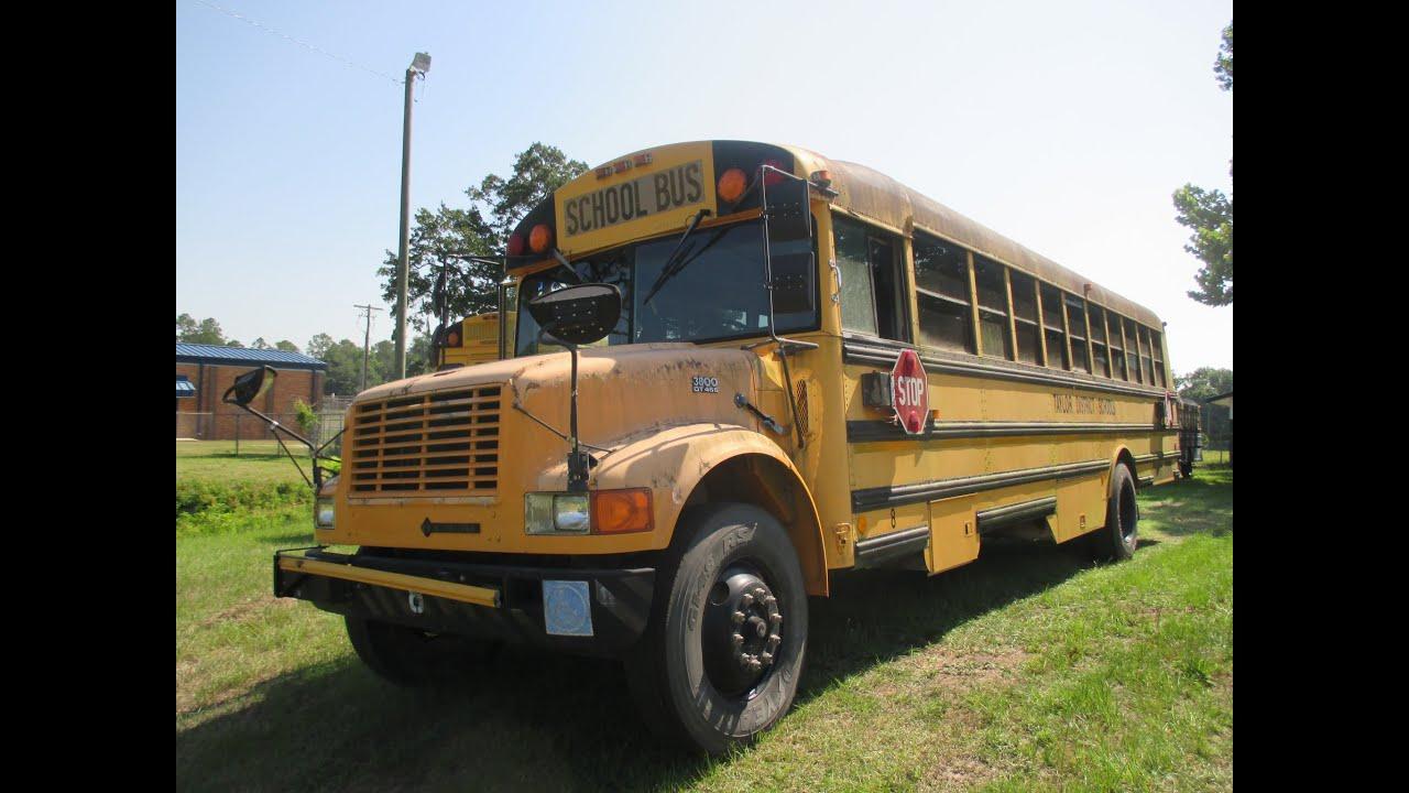 Auction: 1996 Thomas Built School Bus International 3800