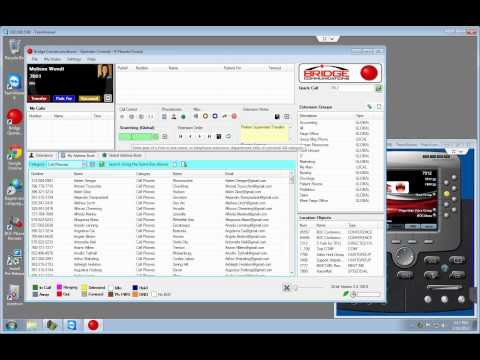 Bridge Operator Console - Web Demo (2/18/13)  (Replacement for Cisco Attendant Console)