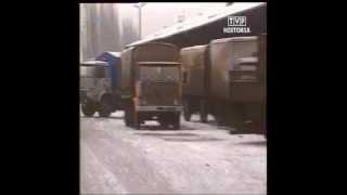 PL 1990 Sklepy Społem i GS. Pożar pociągu. Szczecin spedycja. Kominiarze