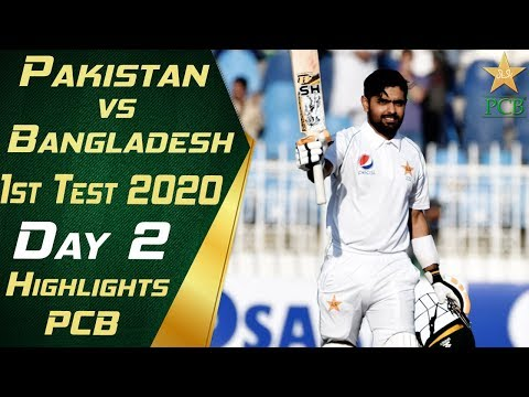 Pakistan vs Bangladesh 2020 | Full Highlights Day 2 | 1st Te