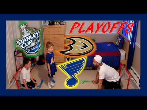 NHL PLAYOFFS - WESTERN CONFERENCE FINALS - DUCKS / BLUES - QUINNBOYSTV