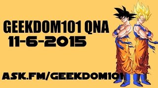Goku Absorbing the Spirit Bomb, Afterlife Plot Holes, Tien vs. Krillin - QNA 11-6-15
