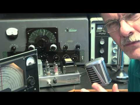 D-lab Electronics Defiant Ham Radio CW  Transmitter Modulator Demo