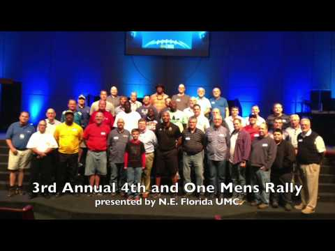 3rd Annual 4th and One Mens Rally hosted by Donovin Darius Foundation